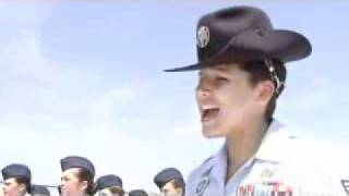 "getlinkyoutube.com-DeeDee's Air Force Squadron TRS320 marching to their ""Jodys"""