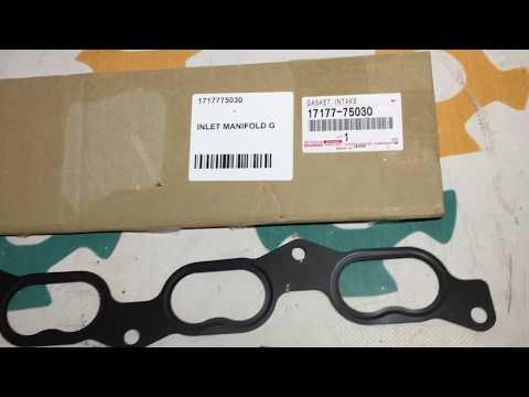 1717775030 17177-75030 Оригинал прокладка впускного коллектора Toyota 3rzfe Prado 90 120 Hiace