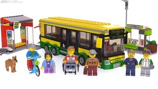 LEGO City 2017 Bus Station review 🚌 60154