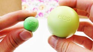 getlinkyoutube.com-Mini EOS Lipbalm Radiergummi selber machen | DIY EOS Lippenpflege Radierer im Miniformat