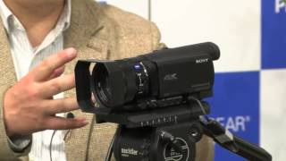 getlinkyoutube.com-月刊 HD Users 2014年1月号 第2部「4Kハンディカムの本命 Sony FDR-AX100登場!