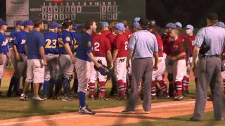 Wally Backman Forfeits After Benches Clear (496)