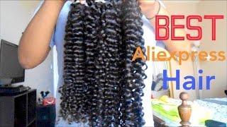getlinkyoutube.com-BEST Curly Hair: AS Hair (Aliexpress) Initial Review