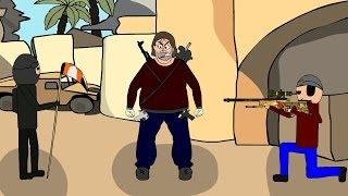 getlinkyoutube.com-CS:GO Cartoon. Необычный de_dust2