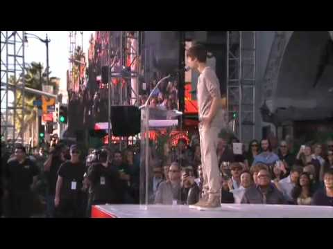 Michael Jackson ceremony from Grauman's Chinese Theatre. January 26, 2012