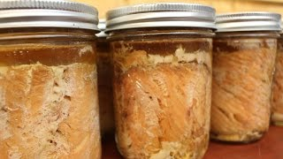 How to Make Lightly Smoked Canned Salmon
