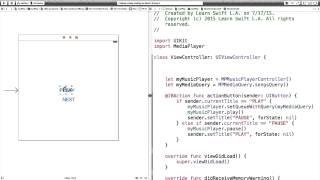 getlinkyoutube.com-Program MPMusicPlayerController in Swift to Play a Random Song | Meet Up 3 | JustPlay Part 3