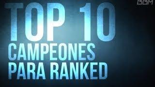 getlinkyoutube.com-Sube de liga! TOP 10  Campeones para Ranked