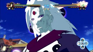 getlinkyoutube.com-Naruto Ultimate Ninja Storm 4 - Six Paths Madara Moveset Awakening & Ultimate Jutsu FULL 60FPS
