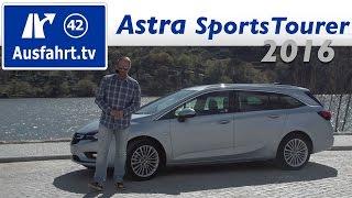 getlinkyoutube.com-2016 Opel Astra K Sports Tourer 1.6 CDTI - Fahrbericht der Probefahrt, Test, Review