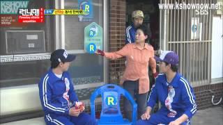 getlinkyoutube.com-Running Man #147 Kim Jong Kook Scolded By Ahjumma