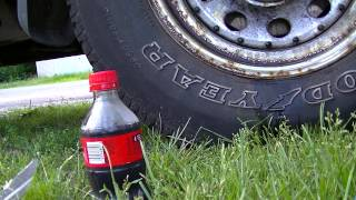 getlinkyoutube.com-Garage Talk - Coke / Aluminum Foil trick for rust