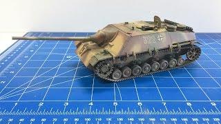 getlinkyoutube.com-Building the Tamiya 1/35 Jagdpanzer IV L70 from start to finish. TAMIYA 35340