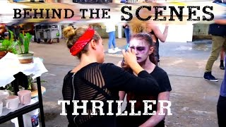 getlinkyoutube.com-Michael Jackson's Thriller cover by Ky Baldwin - Behind the Scenes