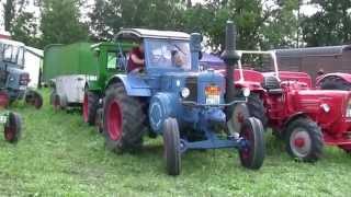 getlinkyoutube.com-Oldtimer Traktoren Schleppertreffen im Freilandmuseum Bad Windsheim 2013