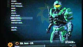 getlinkyoutube.com-Halo Reach Buying All Armor Part 1