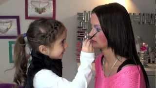 getlinkyoutube.com-Meine Tochter schminkt mich