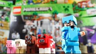 getlinkyoutube.com-6 NEW MINECRAFT LEGO SETS! (Building & Review)