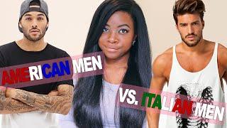 getlinkyoutube.com-American Men vs  Italian Men (Gli Uomini Americani vs. Gli Uomini Italiani)