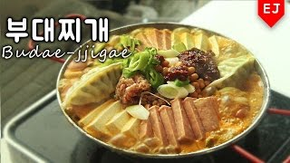 getlinkyoutube.com-보글보글 부대찌개 만들기 how to make Budae-jjigae (korean food) Spicy Sausage Stew 이제이레시피/EJ recipe