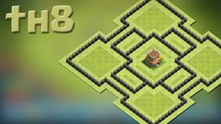 ● Clash Of Clans ● Town Hall Level 8 ● Hybrid Base ●