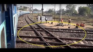 getlinkyoutube.com-Remarkable Encounter with Diamond Crossing – One & Only in India at Nagpur Junction, Maharashtra
