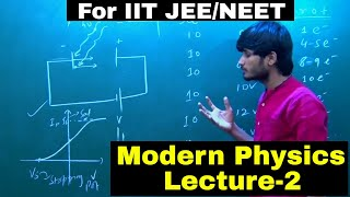 Modern Physics || Lecture-2 || Saturation Current, Stopping Potential || By-Kartikey Sir(IIT BHU)