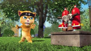 getlinkyoutube.com-Talking Tom and Friends - Jetpack Ninja (Episode 33)