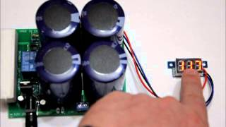 getlinkyoutube.com-The portable super capacitor battery bank with voltage boost options! Rated for 400F 5 4v
