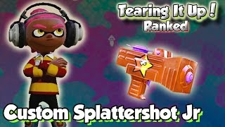 getlinkyoutube.com-Splatoon Multiplayer - Tearing It Up W/ Custom Jr (Why is this Weapon bad?)
