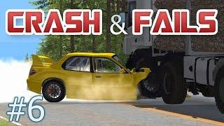 getlinkyoutube.com-BeamNG Drive - Fails & Crashes Compilation 6