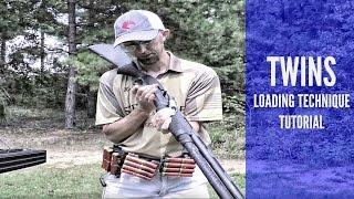 "getlinkyoutube.com-SHOTGUN SPEED RELOAD TUTORIAL: TWINS LOADING |  ""DROPPING DEUCES"""