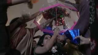 getlinkyoutube.com-Kashvi's Sankrant loot ( Bor-Nahan)