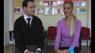Sanatate in pasi de dans - dans si interviu Roxana Codreanu si Andrei Duca