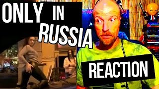 ONLY IN RUSSIA - Russian Funny Videos - REACTION width=