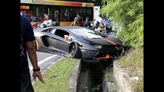 SUPER CARS/ EXOTIC,/LUXURY /SPORT CARS CRASHES AND FAILS COMPILATION