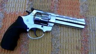 getlinkyoutube.com-Revolver Zoraki R1 Streamer 6 mm flobert 7,5J & chrono.
