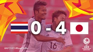 getlinkyoutube.com-THAILAND vs JAPAN: AFC U23 Championship 2016 (Group Stage)