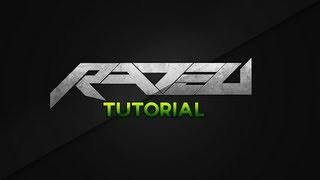 getlinkyoutube.com-Rated Designs Tutorial Creating A Basic Text Logo Concept