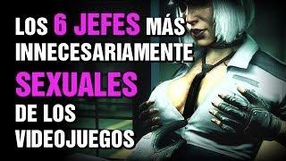getlinkyoutube.com-Los 6 jefes MÁS INNECESARIAMENTE SEXUALES de los videojuegos!