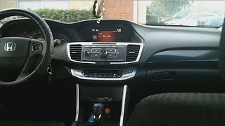 getlinkyoutube.com-How to change wallpaper in your car 2013 or 2014 Honda Accord