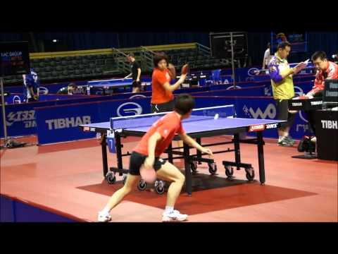 Table Tennis WTTC 2011 Rotterdam Chinese Women Practice 2