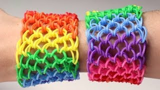 getlinkyoutube.com-Rainbow Loom Nederlands - Dragon Scale || Loom bands, rainbow loom, nederlands, tutorial, how to