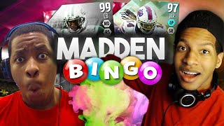 CHEATING TO AVOID DISCARDING A 99 OVERALL! - TRIPLE OVERTIME MADDEN BINGO VS VICTIONARY