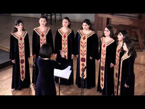 Taratsyal - Nerses Shnorhali - Yervand Yerkanian - Geghard Monastery Choir