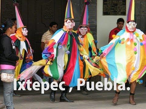 DANZA DE LOS TEJONEROS DE IXTEPEC PUEBLA - 2DA. PARTE -