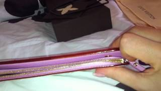 getlinkyoutube.com-Review of my 2 years old Louis Vuitton Insolite wallet (multicolore)