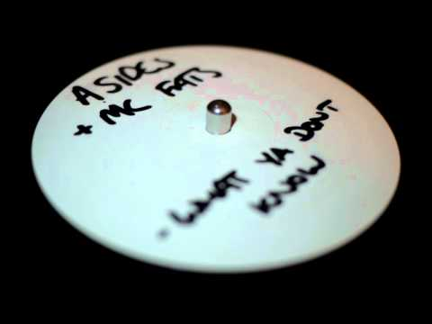 A Sides - What You Don't Know (Full Extended Mix) - Feat Fats & Regina - Eastside Records (2003)