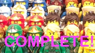 getlinkyoutube.com-LEGO Ninjago COMPLETE Ninja Suit Collection!