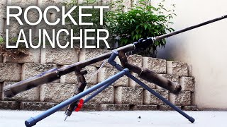 getlinkyoutube.com-Powerful Handheld Rocket Rifle (AK-47 style)
